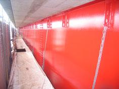 亘理大橋橋梁耐震補強工事に係る現場塗装工