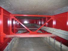 栗木橋橋梁耐震補強及び補修工事に係る塗替塗装工
