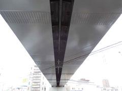 地下鉄南北線八乙女第一架道橋塗装塗替工事
