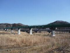 松川水管橋塗装修繕工事