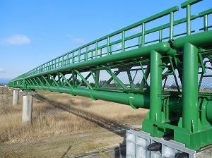 伊達ケ森水管橋